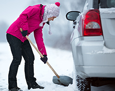 Life-saving car items winter